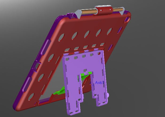 CAD asembly ABS parts