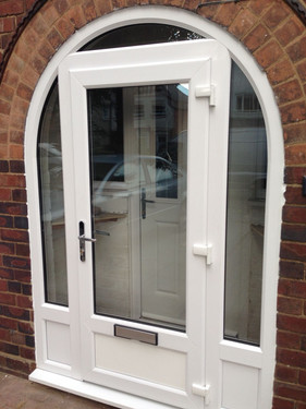 New Porch Door Installation
