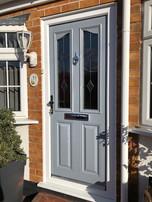 grey composite door