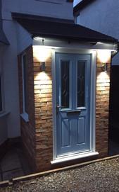 Composite Porch Door