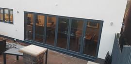 Anthracite Grey Bifold Doors