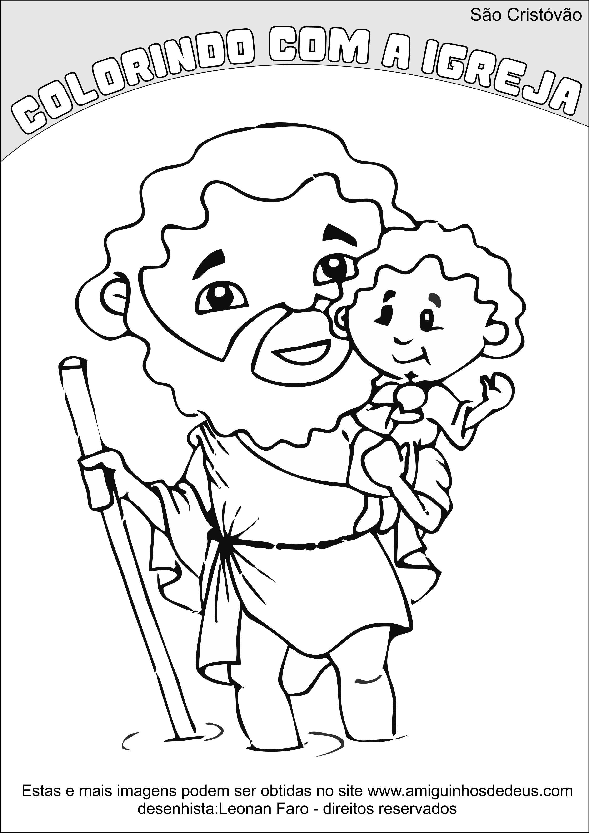 São Cristóvão desenho