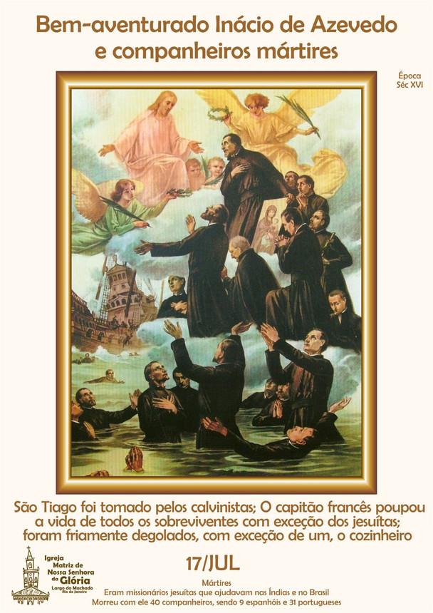 Bem Aventurado Inácio de Azevedo e companheiros mártires