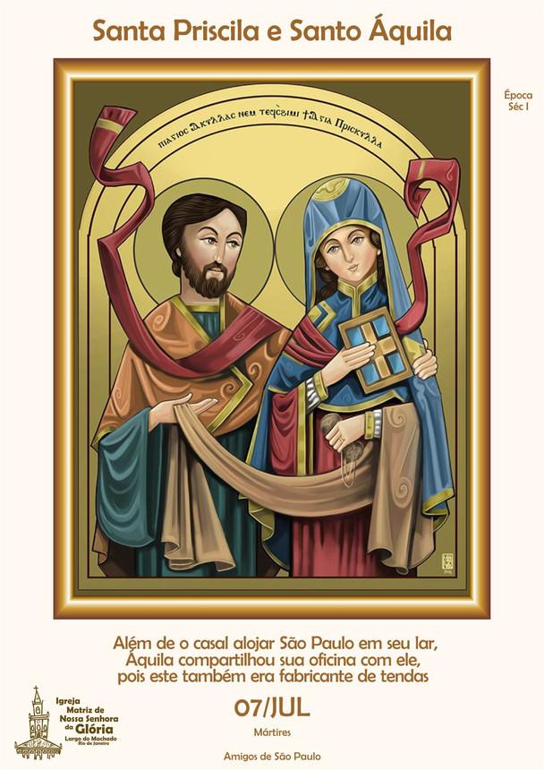 Santa Priscila e Santo Áquila