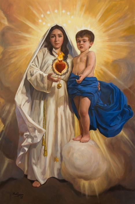 Conheça a origem da devoção ao Imaculado Coração de Maria