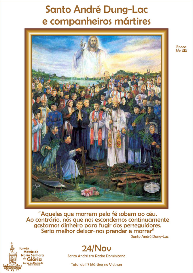 Santo André Dung-Lac e companheiros mártires