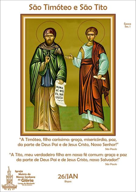 São Timóteo e São Tito