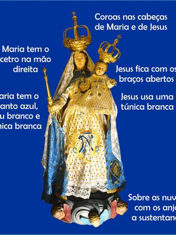 Conhecendo a simbologia da imagem de Nossa Senhora da Glória