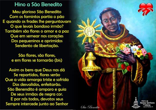 São Benedito, santo da alegria e da misericórdia