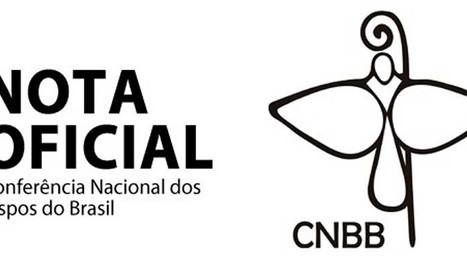 CNBB disponibiliza nota que diverge acusações de grupo malsinado.