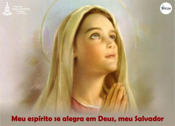 Meu espírito se alegra em Deus, meu Salvador