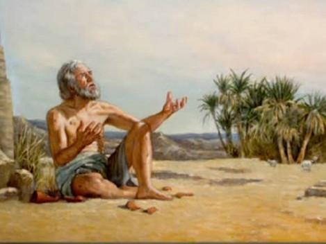 Na desolação espiritual é preciso rezar com força, como disse Jó: gritar até que Deus escute