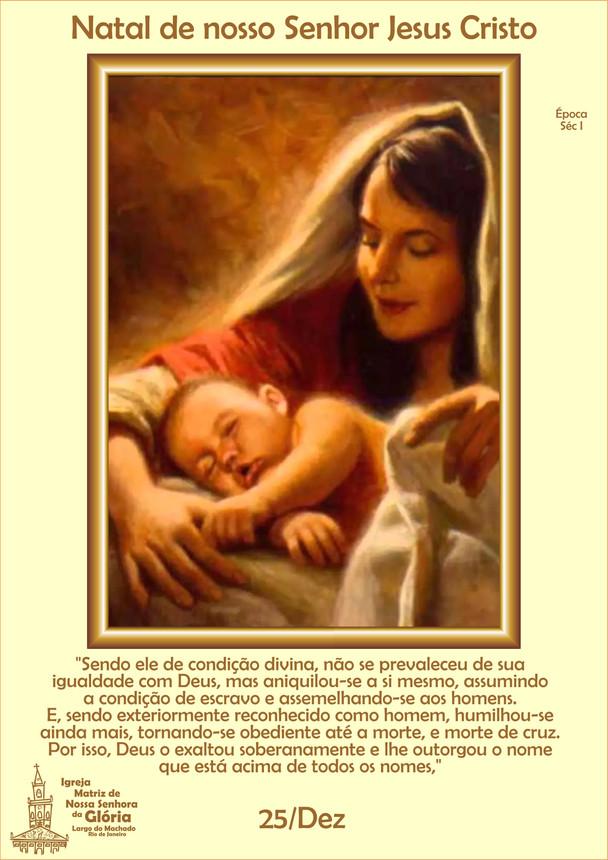Natal de nosso Senhor Jesus Cristo