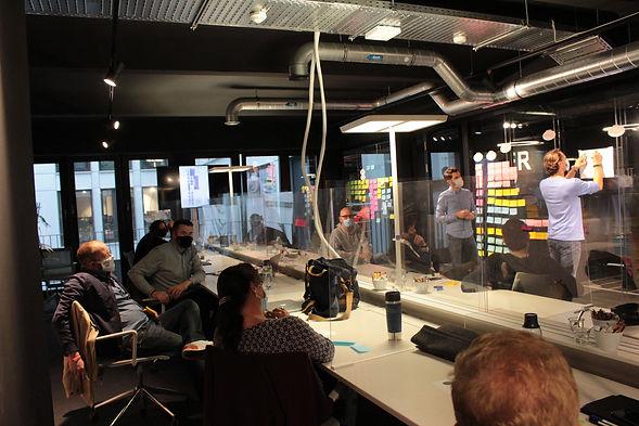 Team Workshop im Hamburger Ding