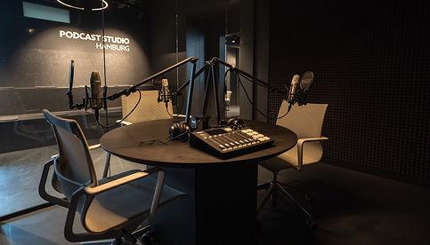 Das Podcast Studio Hamburg im Hamburger Ding