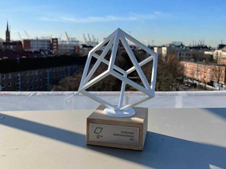 Hamburger Ding mit BrandEx-Award ausgezeichnet