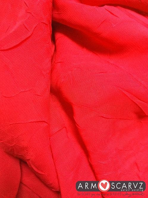 Armscarvz Crinkle Red