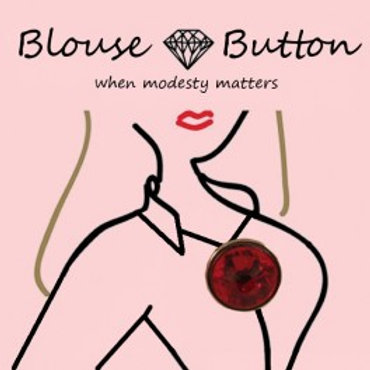 Blouse Buttons Original Gold Setting