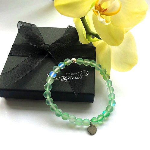 Syreni Mermaid Glass Bracelet - Sea Breeze