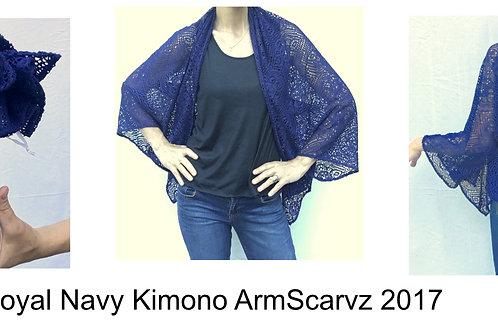 Armscarvz Knit Collection Navy