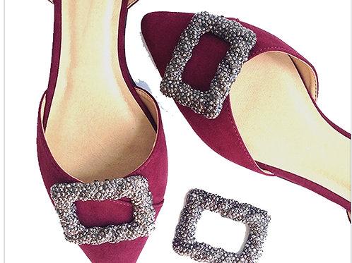 Raven Shoe Clips