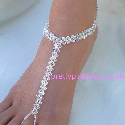 Weave Crystal Barefoot Jewellery