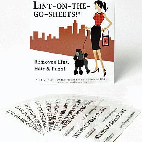Lint on the Go Sheets