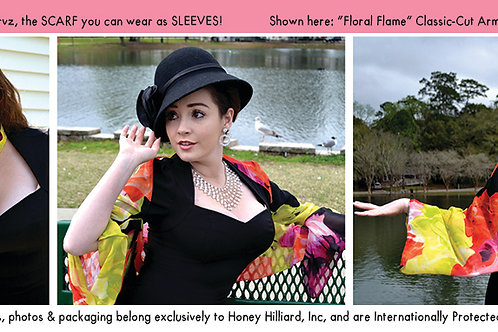 Armscarvz Floral Flame