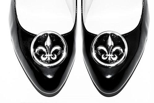 Fleur de Lis Shoe Clips