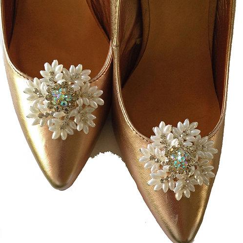 Snowflake Shoe Clips