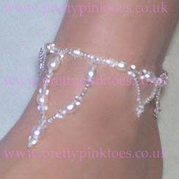 Pearl Lace Anklet