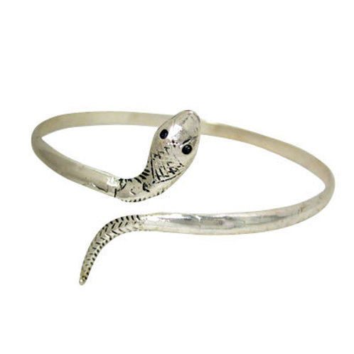 Silver Snake Upper Armband