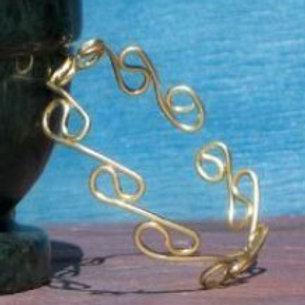 Grecian Brass Armlet