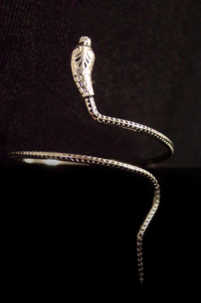 Patterned Spiral Snake Armlet