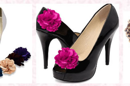 Gia Shoe Clips- Various Colours