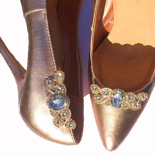 Crystal Donna Shoe Clips