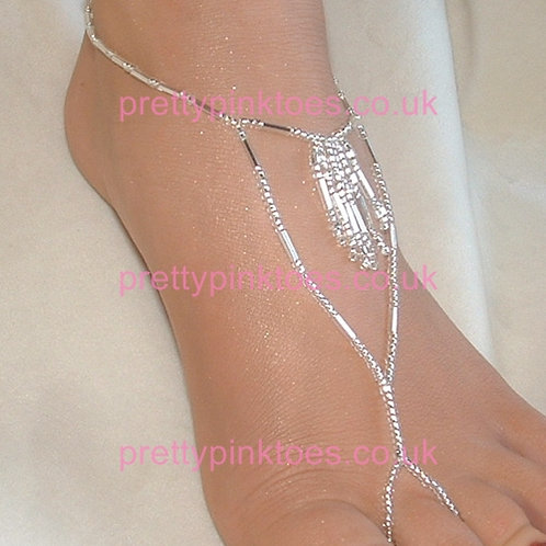 Silver Ice Fringe Barefoot Jewellery