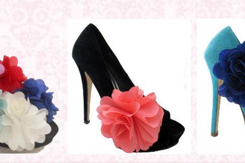 Prettify Shoe Clips- Various Colours