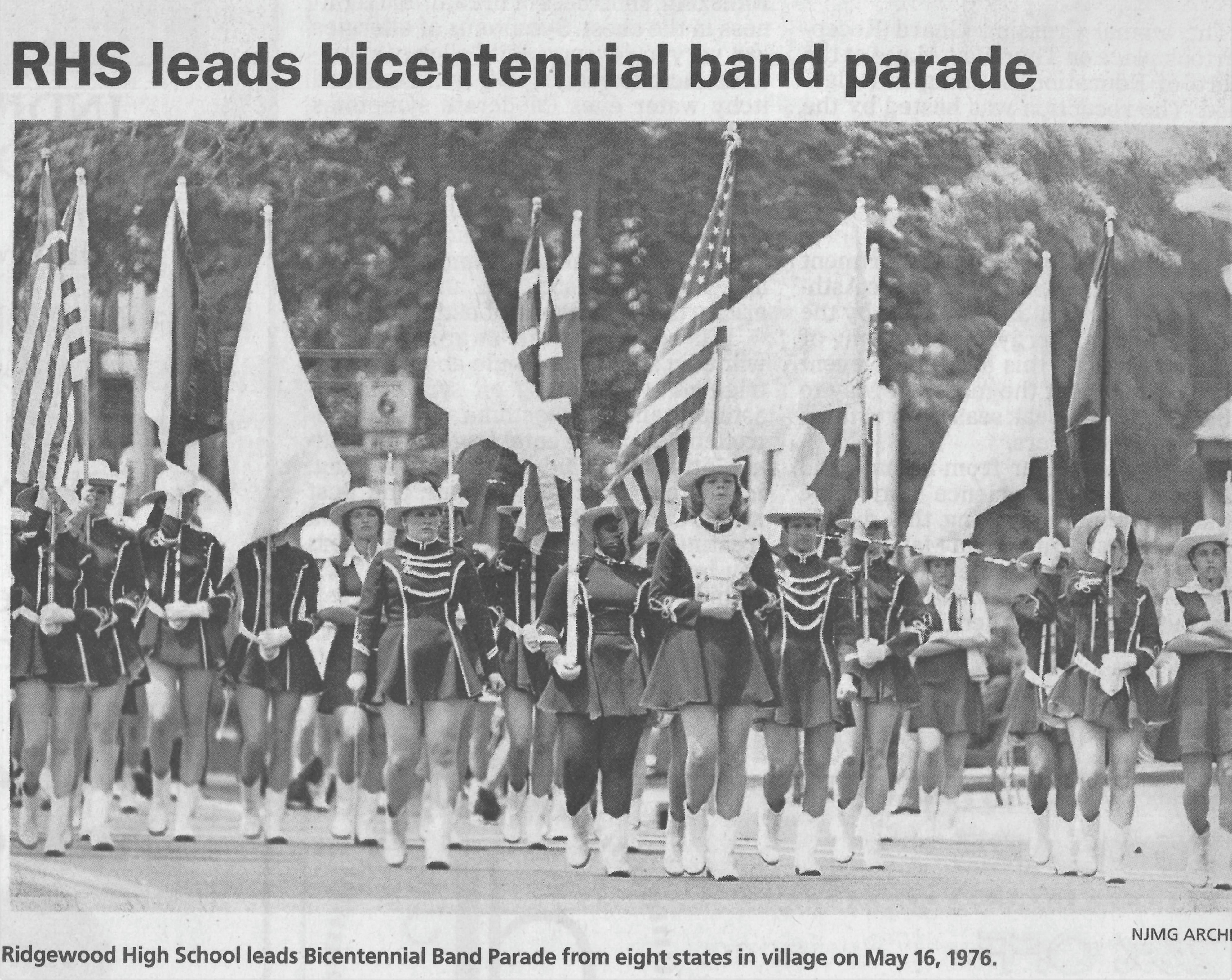RHSMB Bicentennial Parade 1976
