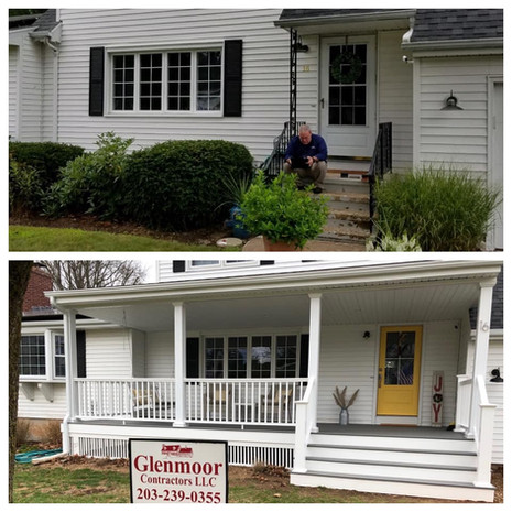 North Haven Porch (Before & After)