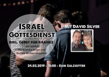 So. 24.3. Israel Gottesdienst