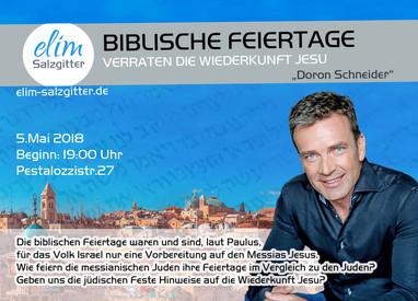 Sa. 5.Mai Israel Seminar