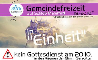 Gemeinde-Freizeit 18.-20.10.