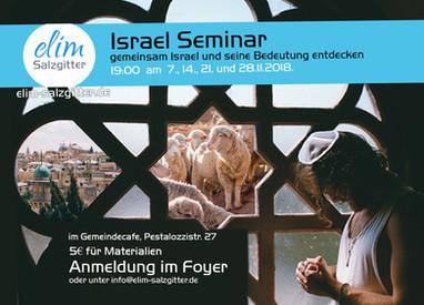 Nov-Israel Seminar