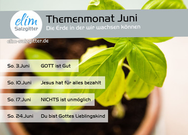 Juni - unser Themenmonat