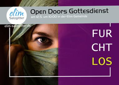 So. 12.5. Open Doors Gottesdienst