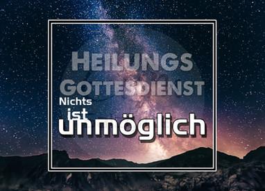 17.06.2018 10:00 Heilungsgottesdienst