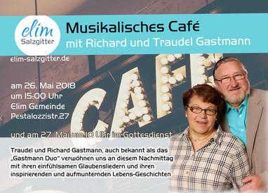 Sa. 26.Mai Musikalisches Cafe