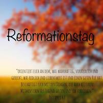 31.10. Reformationstag