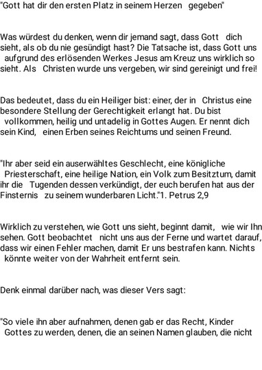 Andacht -2-
